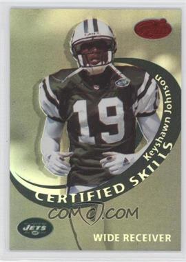 1999 Leaf Certified - Certified Skills - Black Mirror #CS-15 - Eric Moulds /25