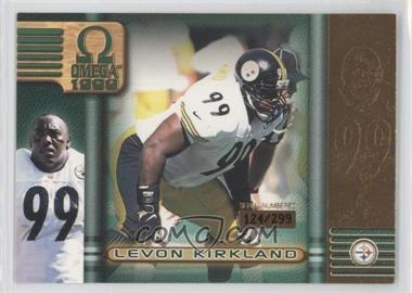 1999 Pacific Omega - [Base] - Gold #189 - Levon Kirkland /299