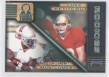 1999 Pacific Omega #161 - Joe Montgomery, Luke Petitgout
