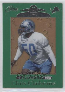 1999 Playoff Absolute SSD - [Base] - Green Border #169 - Chris Claiborne