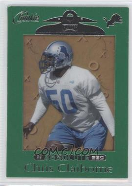 1999 Playoff Absolute SSD Green Border #169 - Chris Claiborne