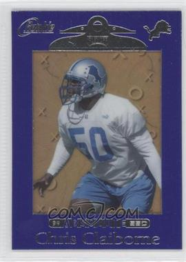 1999 Playoff Absolute SSD Purple Border #169 - Chris Claiborne