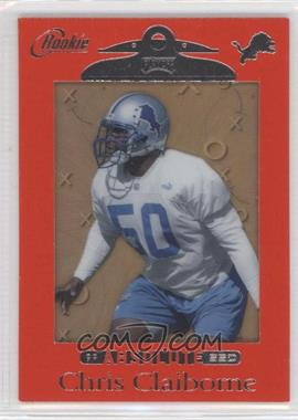 1999 Playoff Absolute SSD Red Border #169 - Chris Claiborne