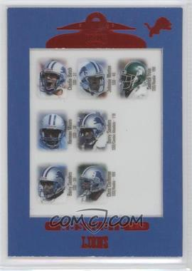 1999 Playoff Absolute SSD #140 - Charlie Batch, Johnnie Morton, Sedrick Irvin, Herman Moore, Barry Sanders, Chris Claiborne
