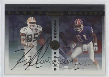 1999 Playoff Contenders SSD - Round Numbers Autographs #RN1 - Kevin Johnson, Peerless Price