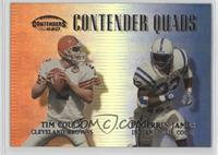 Tim Couch, Edgerrin James, Peyton Manning, Kevin Johnson