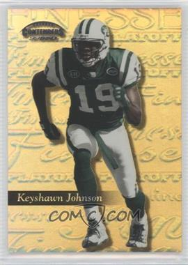 1999 Playoff Contenders SSD Finesse Gold #198 - Keyshawn Johnson /25