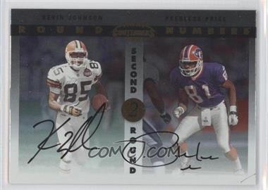 1999 Playoff Contenders SSD Round Numbers Autographs #RN1 - Kevin Johnson, Peerless Price