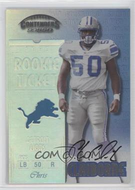 1999 Playoff Contenders SSD #159 - Chris Claiborne
