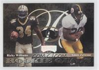 Ricky Watters, Amos Zereoue, Cecil Collins, Jerry Azumah, Ricky Williams