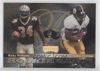 Cecil Collins, Jerry Azumah, Amos Zereoue, Ricky Williams /50