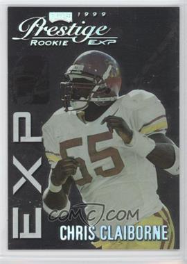 1999 Playoff Prestige EXP - [Base] - Reflections Silver #EX34 - Chris Claiborne /3250