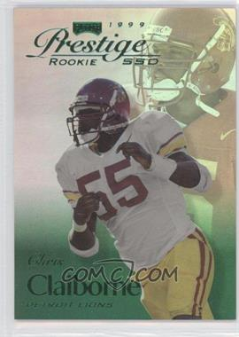 1999 Playoff Prestige SSD Spectrum Green #B167 - Chris Claiborne /500
