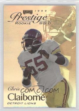 1999 Playoff Prestige SSD #167 - Chris Claiborne