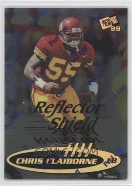 1999 Press Pass - [Base] - Reflectors #R4 - Chris Claiborne /245