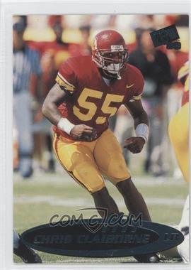 1999 Press Pass [???] #4 - Chris Claiborne