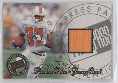 1999 Press Pass Jerseys #JC/PP - Peerless Price /450