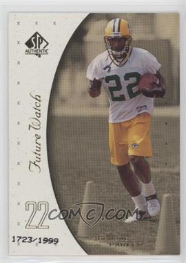1999 SP Authentic - [Base] #127 - De'Mond Parker /1999