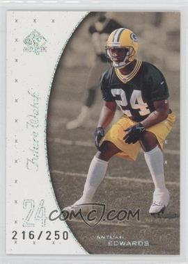 1999 SP Authentic Excitement #144 - Antuan Edwards /250