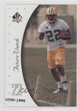 1999 SP Authentic #127 - De'Mond Parker /1999