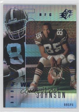 1999 SPx [???] #122 - Kevin Johnson /100