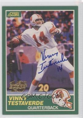 1999 Score [???] #224S - Vinny Testaverde /1989