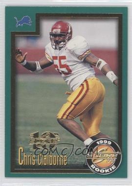 1999 Score [???] #229 - Chris Claiborne /1989