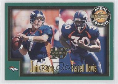 1999 Score [???] #271 - John Elway, Terrell Davis /1989