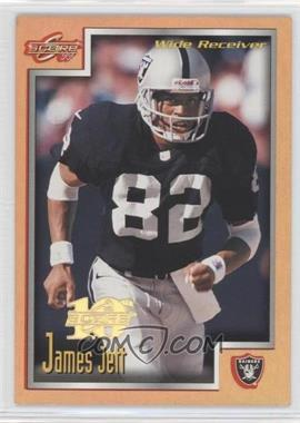 1999 Score 10th Anniversary Artist Proof #220 - James Jett /10