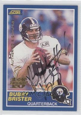 1999 Score 10th Anniversary Reprints Autographs [Autographed] #11 - Bubby Brister /150
