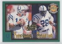 Peyton Manning, Marshall Faulk /1989