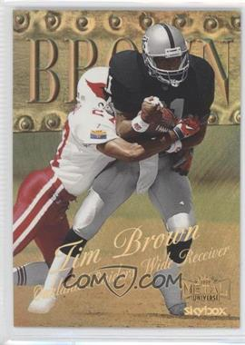 1999 Skybox Metal Universe - [Base] - Precious Metal Gems #27 - Tim Brown /50