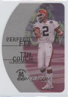 1999 Skybox Molten Metal Perfect Fit Silver #9 PF - Tim Couch