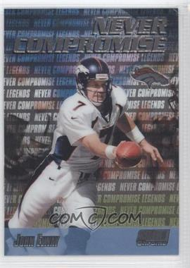 1999 Stadium Club Chrome - Never Compromise #NC37 - John Elway