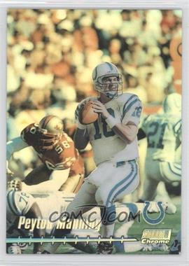 1999 Stadium Club Chrome [???] Refractor #C3 - Peyton Manning