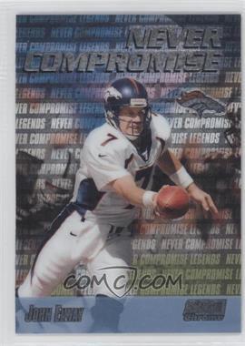 1999 Stadium Club Chrome [???] #NC37 - John Elway