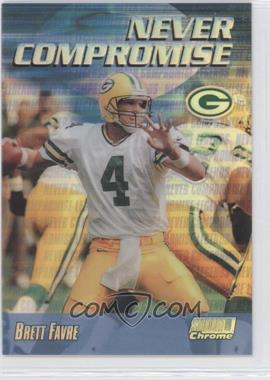 1999 Stadium Club Chrome Never Compromise Refractor #NC35 - Brett Favre