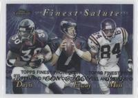 Terrell Davis, John Elway, Randy Moss
