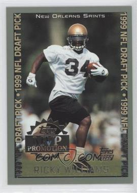 1999 Topps MVP Promotion Sweepstakes #RIWI - Ricky Williams