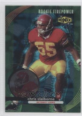 1999 UD Ionix [???] #72 - Chris Claiborne