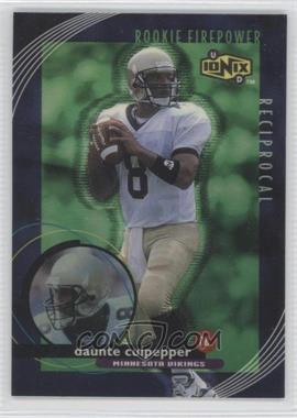 1999 UD Ionix Reciprocal #R63 - Daunte Culpepper