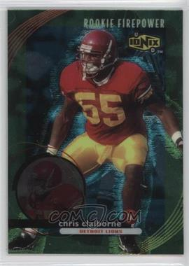 1999 UD Ionix #72 - Chris Claiborne