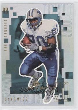 1999 Upper Deck MVP Dynamics #D11 - Barry Sanders