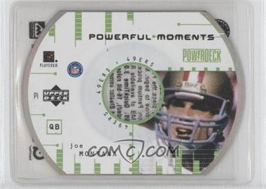 1999 Upper Deck Powerdeck [???] #1 - Joe Montana