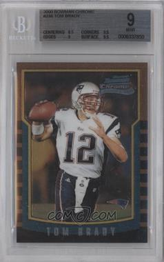 2000 Bowman Chrome #236 - Tom Brady [BGS 9]