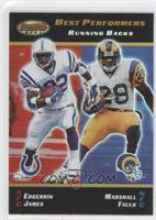 Edgerrin James, Marshall Faulk