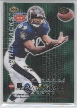2000 Collector's Edge Masters Leatherbacks #TT - Travis Taylor
