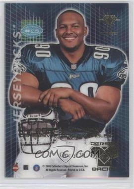 2000 Collector's Edge Odyssey - GameGear - Jerseybacks #CS - Corey Simon