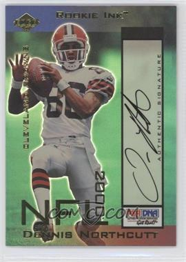 2000 Collector's Edge Odyssey Rookie Ink #DN - Dennis Northcutt /800