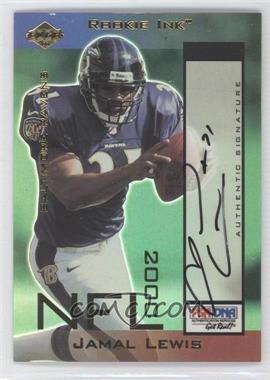 2000 Collector's Edge Odyssey Rookie Ink #JL - Jamal Lewis /540